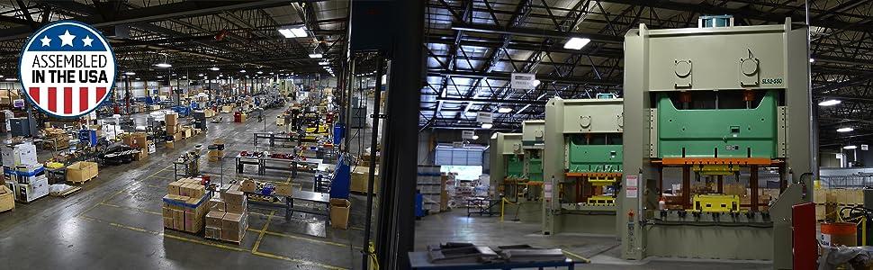 usa, assembled, factory, domestic