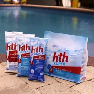 Bags of hth pool shock