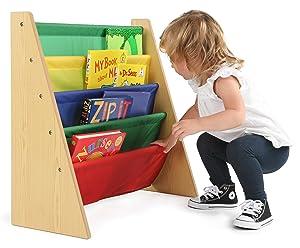 High Quality Kidsu0027 Book Rack Storage Bookshelf