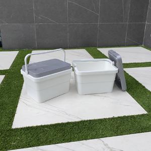 Campos Stack Nevera portátil, Blanco: Amazon.es: Jardín