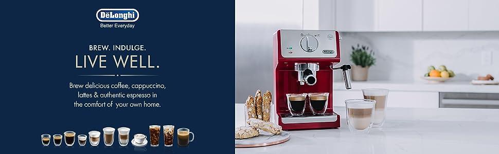 Amazon.com: DeLonghi ECP3220 - Máquina de café y capuchino ...