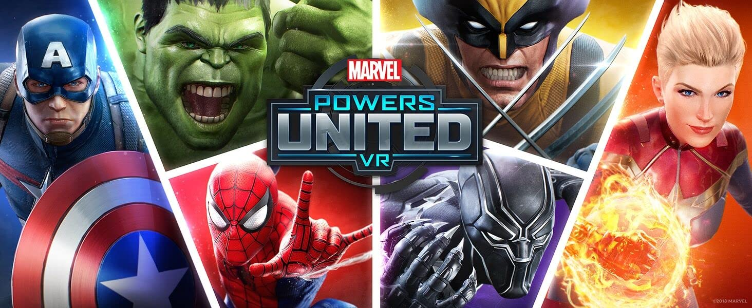 Amazon Com Oculus Marvel Powers United Vr Special Edition