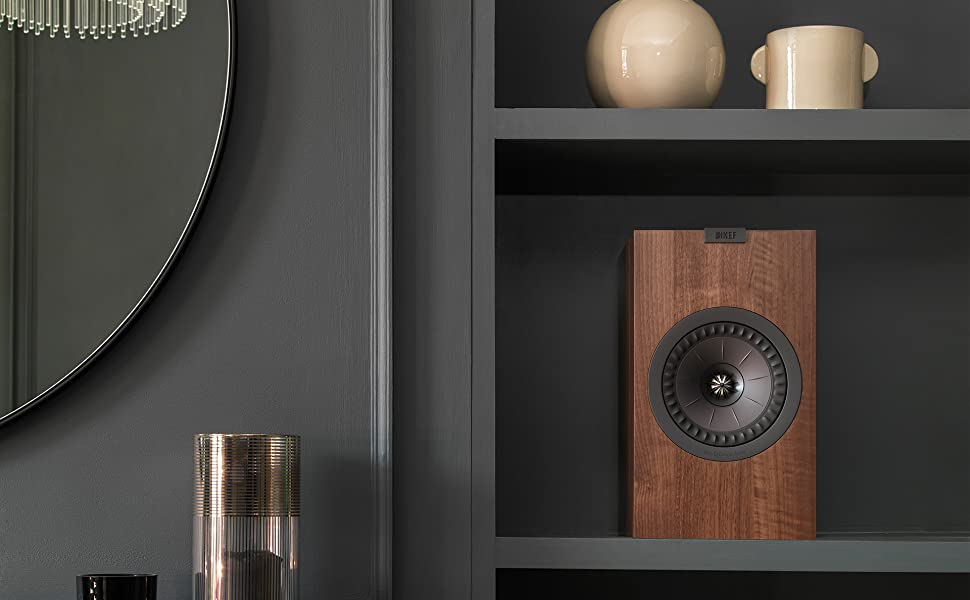 KEF Q350 Bookshelf or Standmounted speakers for music and movies home theater