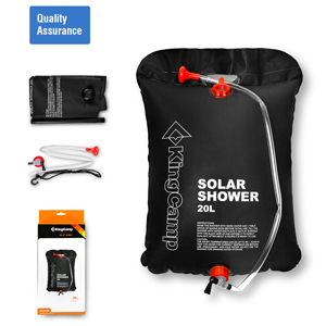 KingCamp Solar Shower Camping Shower Bag 20 L/5.28 Gallons