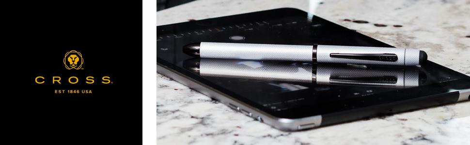 Cross Tech3+ Multi-Function Ballpoint Pen with Mechanical Pencil & Stylus header banner image