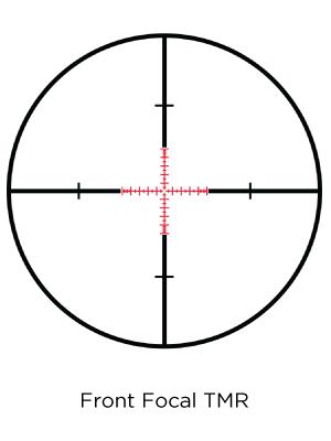 TMR reticle
