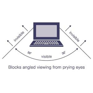 targus, privacy screen, computer, laptop, blue light, glare, safeguarding information, data, lcd