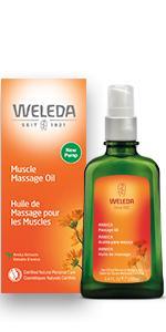 Weleda Muscle Massage Oil Arnica