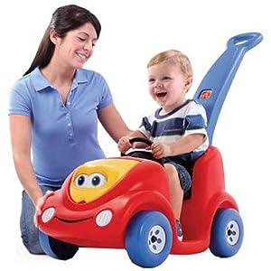 a classic parent push car for kids