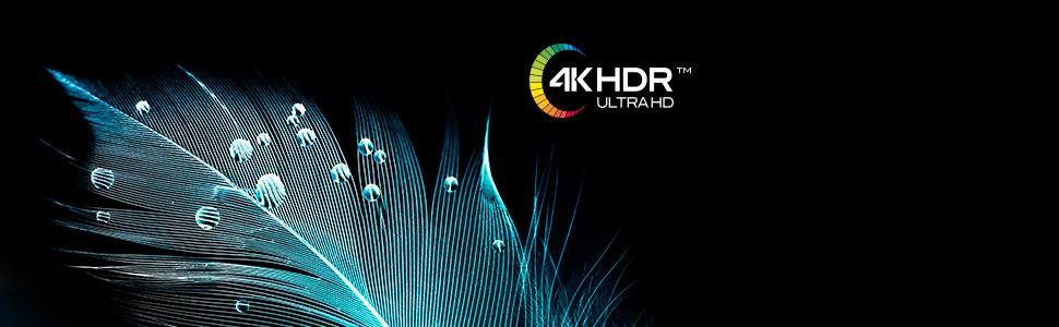 4K HDR ultra HD risoluzione