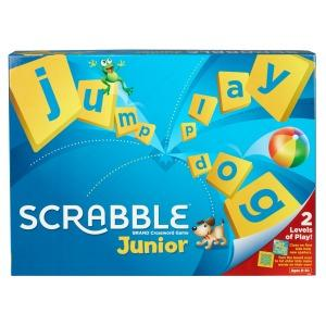 Now kids can enjoy all the fun and challenge of Scrabble!