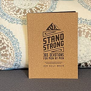 stand strong, stand strong deluxe edition, devotions for men