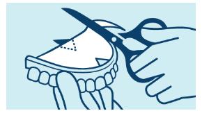 Modo de empleo para dentadura superior