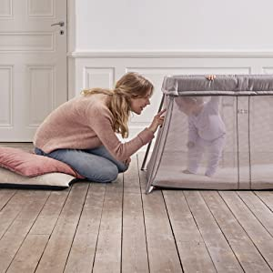 airy design babybjorn travel cot