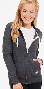 Russell Athletic Essential Full Zip Hooded Jacket