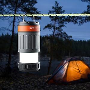 camping light, hiking light, led lantern, flashlight and lantern, best camping light, pop up lantern