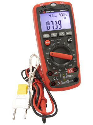 high performance professional multi tester for technicians, security, electric, hvac