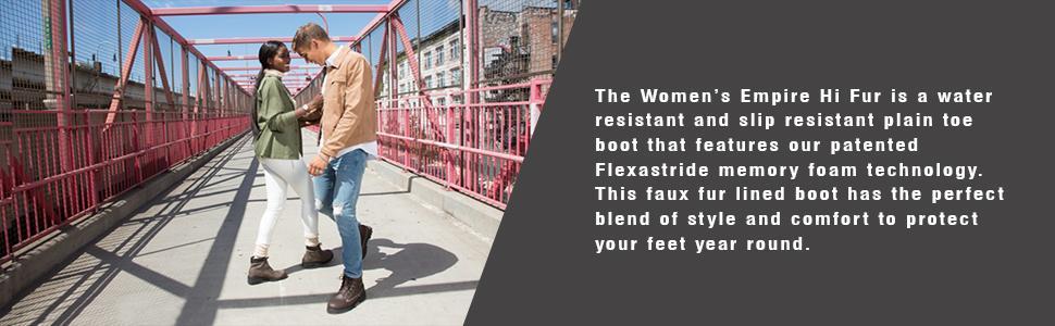 Lugz Empire Hi Faux-Fur ... Women's Water-Resistant Boots