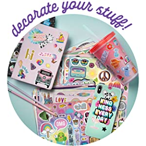 stickers gift teen tween cute fun