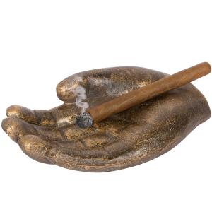 Hand Shaped Ashtray Smoke