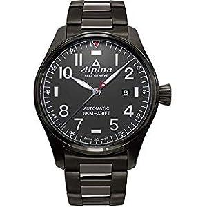 Alpina Startimer Pilot Swiss Automatic Men's Watch, Swiss Made,