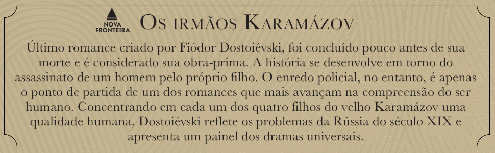 Os irmãos Karamázov, Rússia, humano