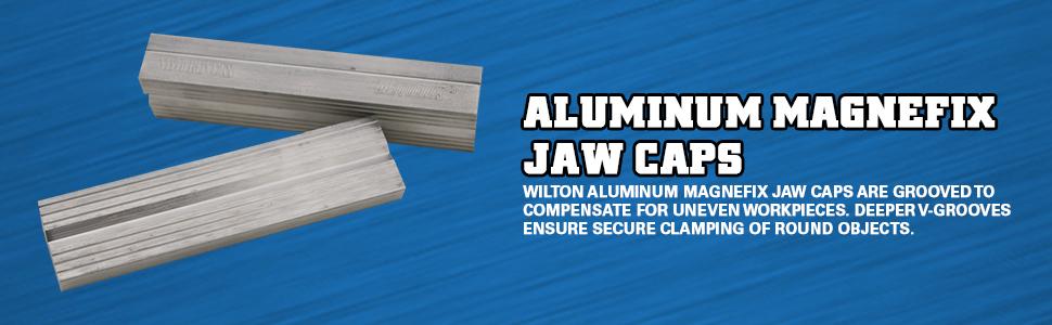 Wilton Aluminum Magnefix Jaw Caps
