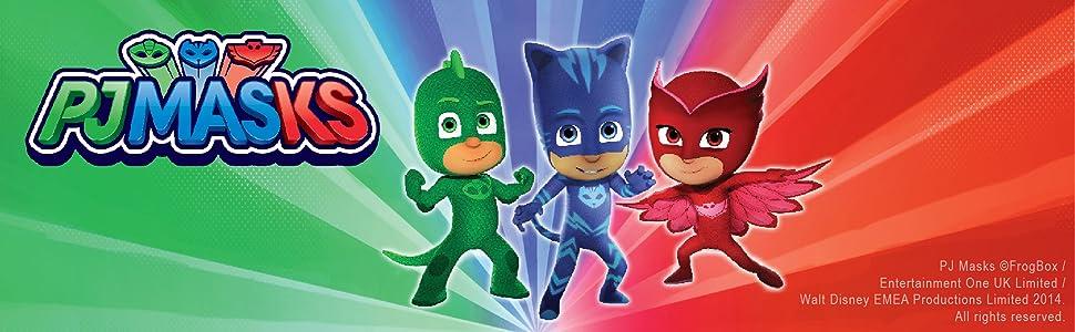 PJ Masks Superhero Children Happy Birthday Card Age 4 5 6 Daughter Son