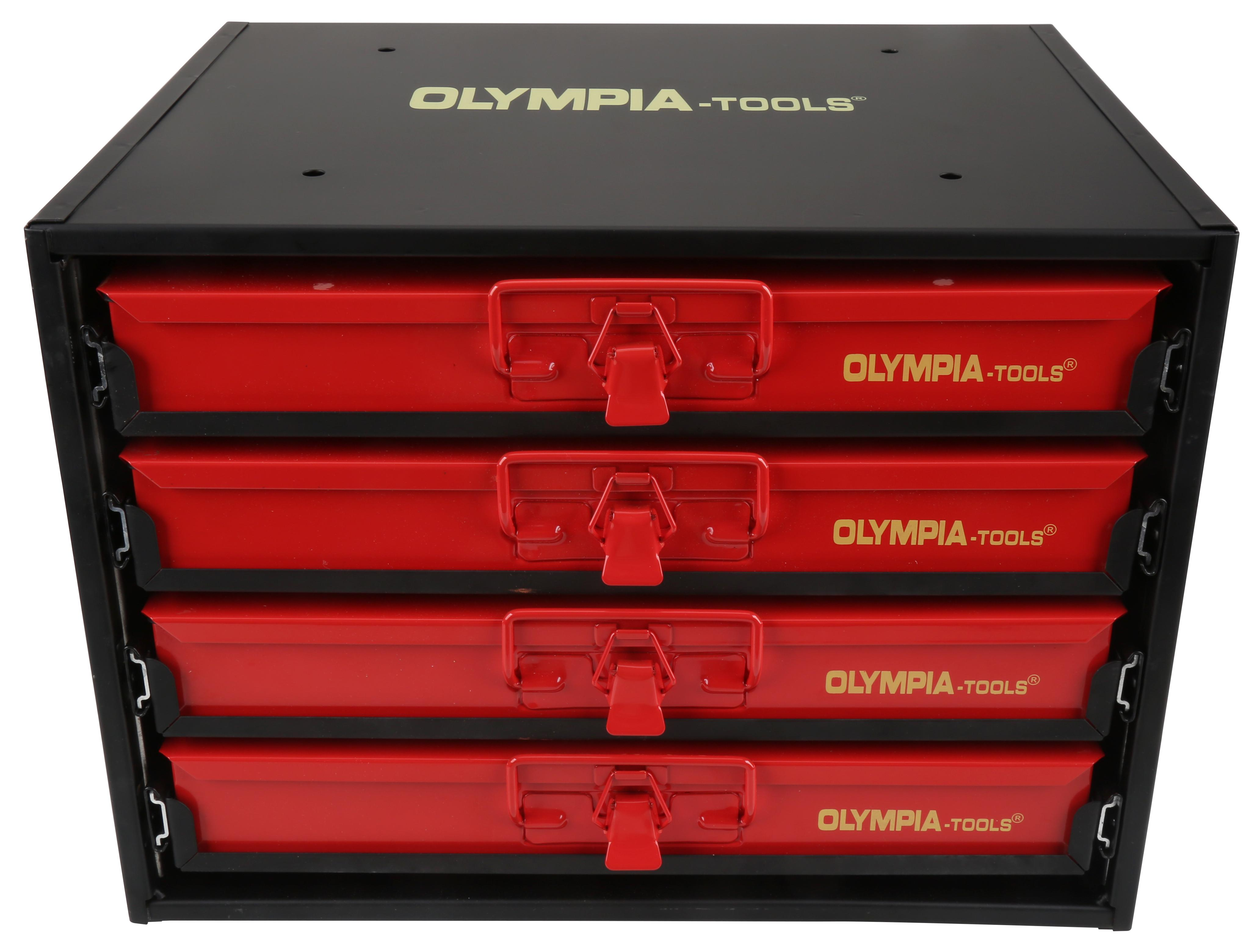 Olympia Tools 90 800 2000 Pieces 4 Drawer Hardware