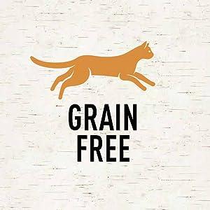 Grain Free Cat Food, No Grain, Zero Grain, Wheat Free, No Wheat
