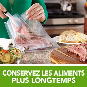 conservez les aliments plus longtemps