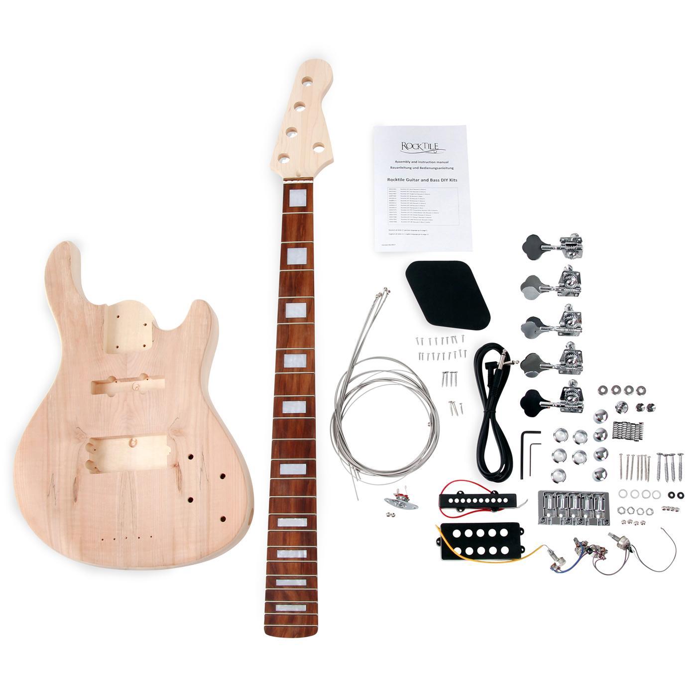 Rocktile DIY JBH5 Bausatz E-Bass (\