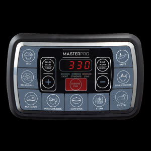 LED, display, multicooker, ultimatecooker, MasterPro, buttons,