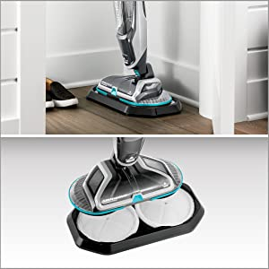 Amazon Com Bissell Spinwave 2307 Cordless Hard Mop Wood