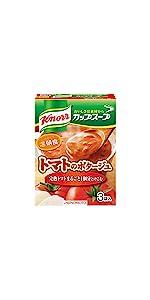 クノール カップスープ 完熟トマトまるごと1個分使ったポタージュ(3袋入)
