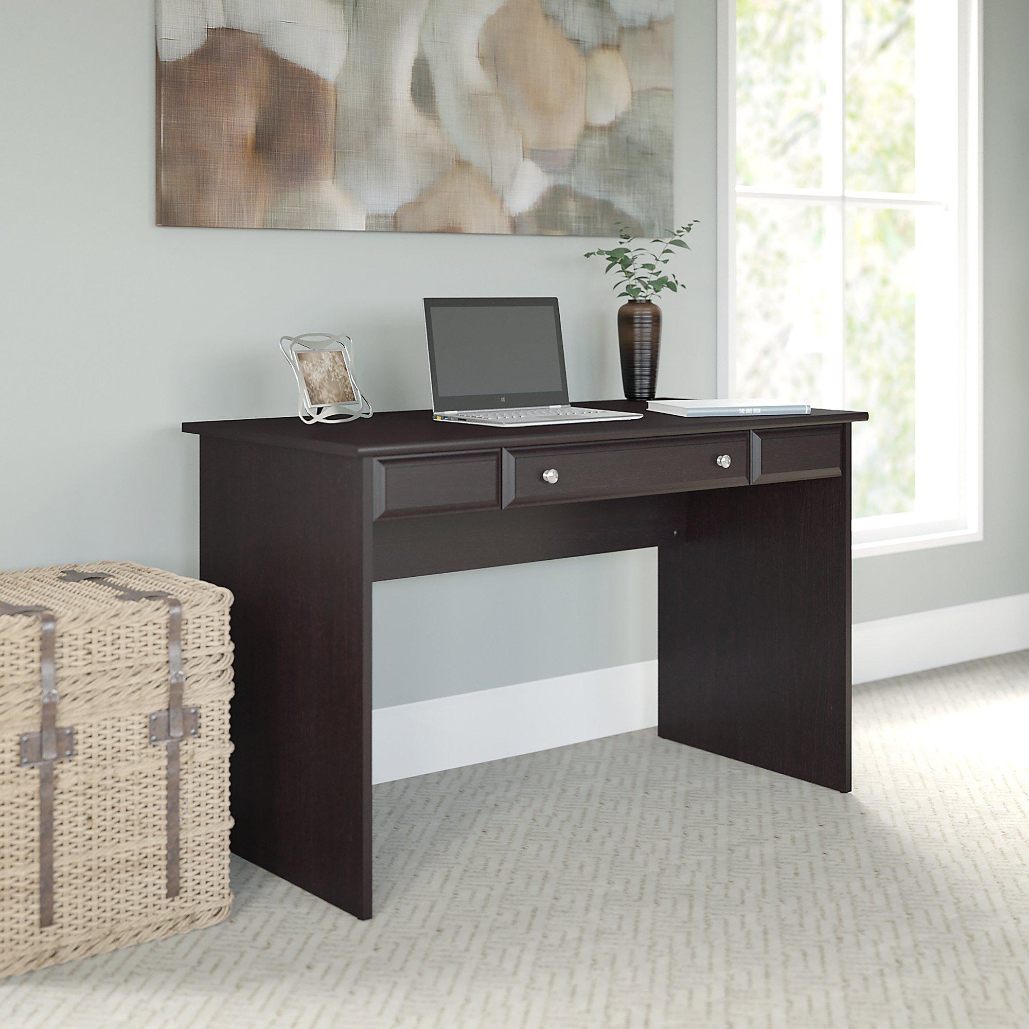 Amazon.com: Bush Furniture Cabot Writing Desk In Espresso