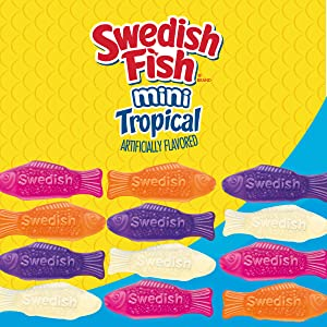 swedish fish mini tropical candy