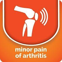 minor pain of arthritis