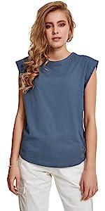 maglietta basic blu