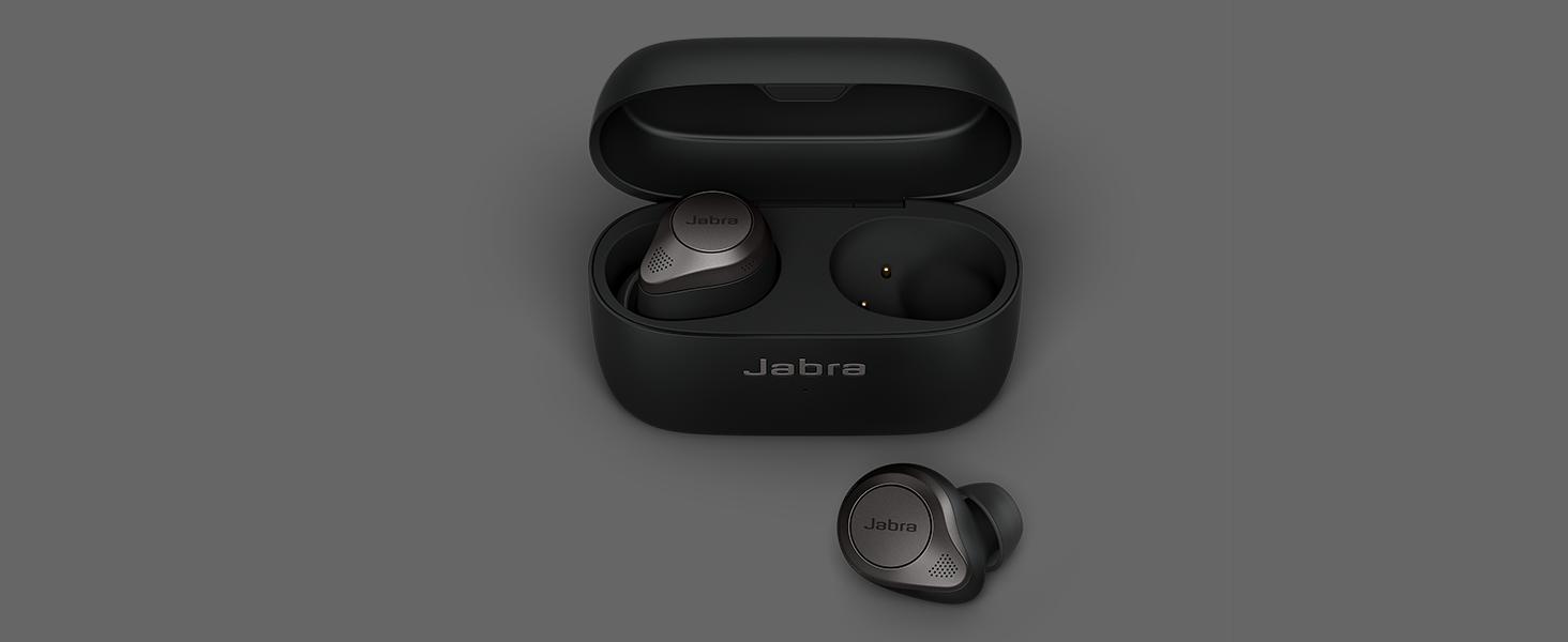 Jabra Elite 85t äkta trådlösa öronsnäckor är utformade för överlägset