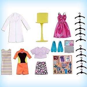 Barbie muñeca conjuntos de moda personalizable niñas idea regalo 3 7 años cumpleaño navidad