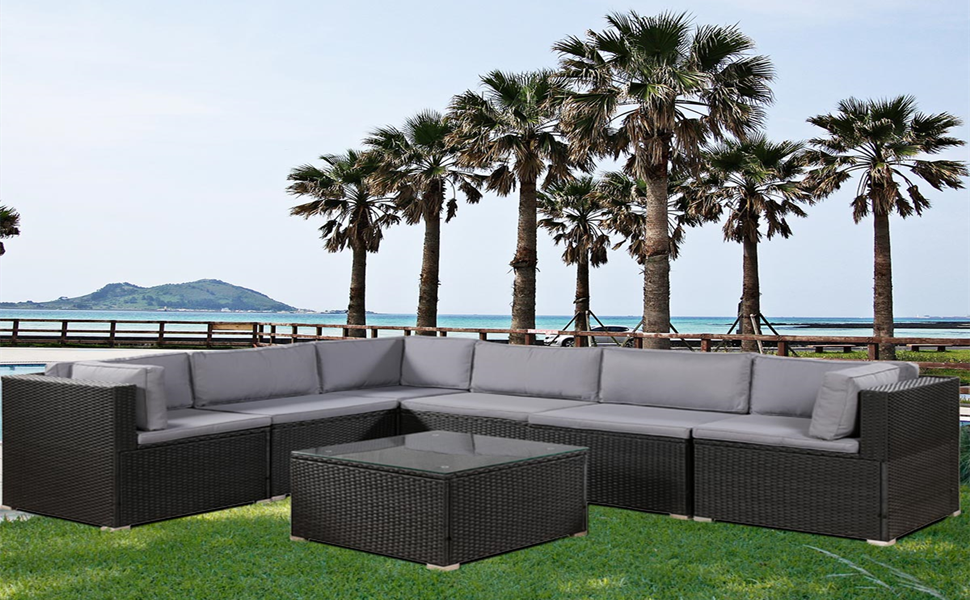 with soft cushions patio furniture sets