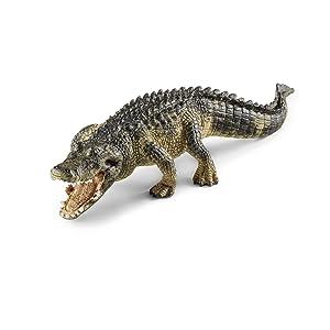 alligator, gator, schleich gator, schleich alligator, everglades, schleich figurines, animals, toys,