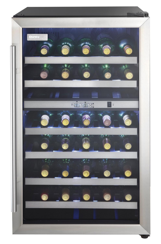 Danby Dwc114blsdd Designer Dual Zone Wine Cooler