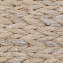 White Wash Bone Shape Hyacinth Basket for Pets from Bone Dry