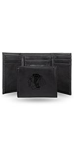 wallet,mens wallet,wallet for women,wallet for men,leather wallet,NHL,Blackhawks,Chicago Blackhawks
