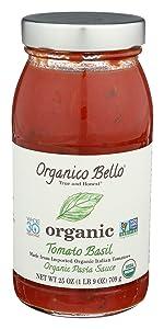 pasta marinara tomato basil sauce italian organic whole 30