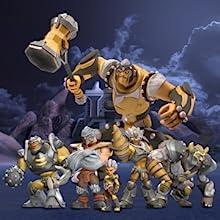 Giochi Preziosi Gormiti Personaggi Giganti Lord Titano Multicolore Grm03100