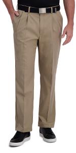 Classic Fit Pants, Mens Classic Fit Pants, Mens Casual Pants, Haggar Pants, Haggar Casual Pants