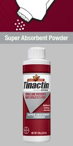 Tinactin AF Athletes Foot Antifungal Powder athletic antifngal tineacide